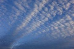 Cielo cubierto de la luz del día Fotos de archivo libres de regalías
