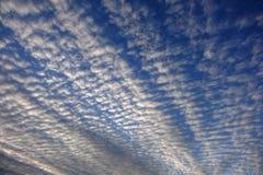 Cielo cubierto de la luz del día Fotos de archivo