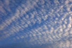 Cielo cubierto de la luz del día Foto de archivo libre de regalías