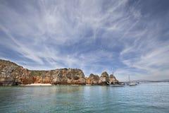 Cielo de Algarve imágenes de archivo libres de regalías