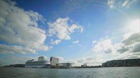 Cielo de Amsterdam almacen de metraje de vídeo