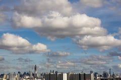 Cielo de Bangkok Fotografía de archivo libre de regalías