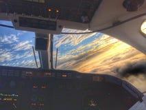 Cielo de Beechjet Imagenes de archivo