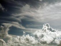 Cielo de Bermudas en el cielo del seaSea Imagen de archivo libre de regalías
