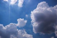 Cielo de Bule Imágenes de archivo libres de regalías