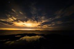 Cielo de ciudad Royaltyfri Foto