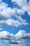 Cielo de Cloudly Foto de archivo