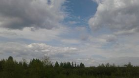 Cielo de Cloudly Imagen de archivo libre de regalías