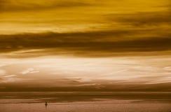 Cielo de cobre imagenes de archivo