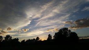 Cielo de Colorado Imagenes de archivo