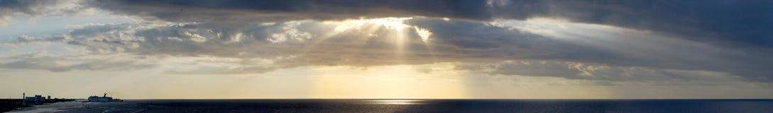 Cielo de Cozumel Imagenes de archivo