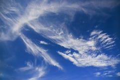 Cielo de Crete imagen de archivo