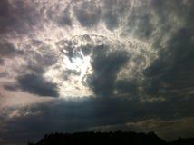 Cielo de ebullición Fotografía de archivo libre de regalías