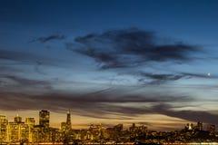 Cielo de la ciudad Foto de archivo libre de regalías