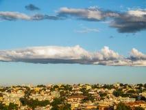 Cielo de la ciudad de Belo Horizonte - el Brasil Fotos de archivo