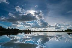 Cielo de la corona Imágenes de archivo libres de regalías