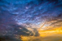 Cielo de la croma Imagenes de archivo