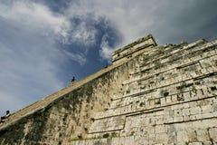 Cielo de la escalera Fotos de archivo libres de regalías
