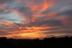 Cielo de la Florida Foto de archivo libre de regalías