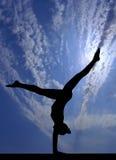 Cielo de la gimnasia Foto de archivo libre de regalías