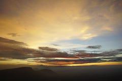 Cielo de la mañana Fotografía de archivo