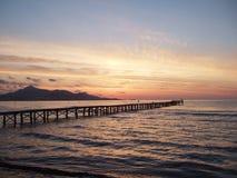 Cielo de la madrugada Fotos de archivo libres de regalías