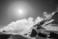Cielo de la montaña Imagen de archivo libre de regalías