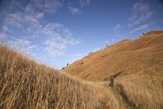 Cielo de la montaña de Wugong Fotografía de archivo libre de regalías
