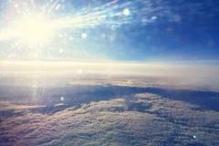 Cielo de la mucha altitud Fotografía de archivo