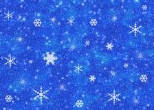 Cielo de la nieve Fotos de archivo libres de regalías