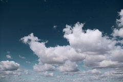 Cielo de la nube Foto de archivo libre de regalías