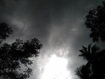 Cielo de la nube Fotos de archivo