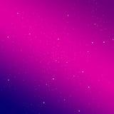 Cielo de la pendiente con el fondo de las estrellas Solución elegante para su diseño Fotografía de archivo