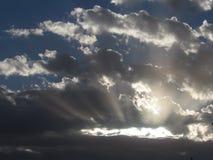 Cielo de la salida del sol Imágenes de archivo libres de regalías
