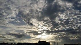 Cielo de la tarde Imagen de archivo libre de regalías
