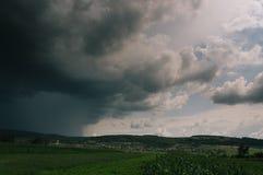 Cielo de la tormenta foto de archivo