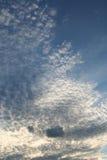 Cielo de las palomitas Fotografía de archivo libre de regalías