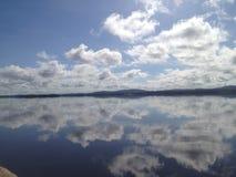 Cielo de las reflexiones Fotografía de archivo