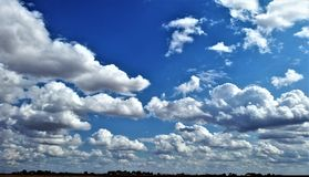 Cielo de Lubbock imagen de archivo