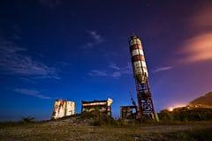 Cielo de medianoche Foto de archivo