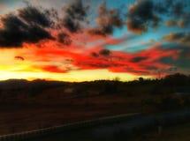 Cielo de Sooper Imagen de archivo