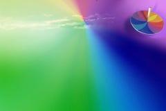 Cielo de Spintop Imagenes de archivo