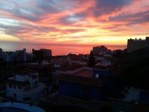 Cielo de Tenerife Imagenes de archivo