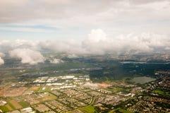 Cielo del aeroplano Foto de archivo libre de regalías