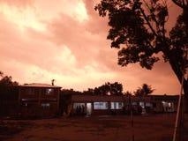 cielo del bauet Fotografía de archivo libre de regalías