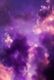 Cielo del caramelo de algodón Imagenes de archivo