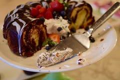 Cielo del chocolate Imagen de archivo libre de regalías