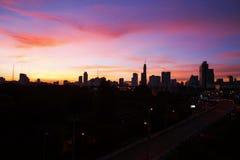 cielo del colorfull Immagini Stock