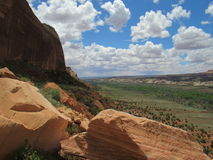 Cielo del desierto Fotografía de archivo libre de regalías