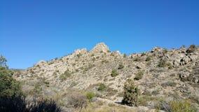 Cielo del desierto del postre Fotografía de archivo libre de regalías
